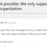 SharePoint Online - Bereits das zweite Problem