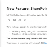 SharePoint Online Seite umbenennen