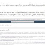 Anchor Elemente in SharePoint Online verfügbar