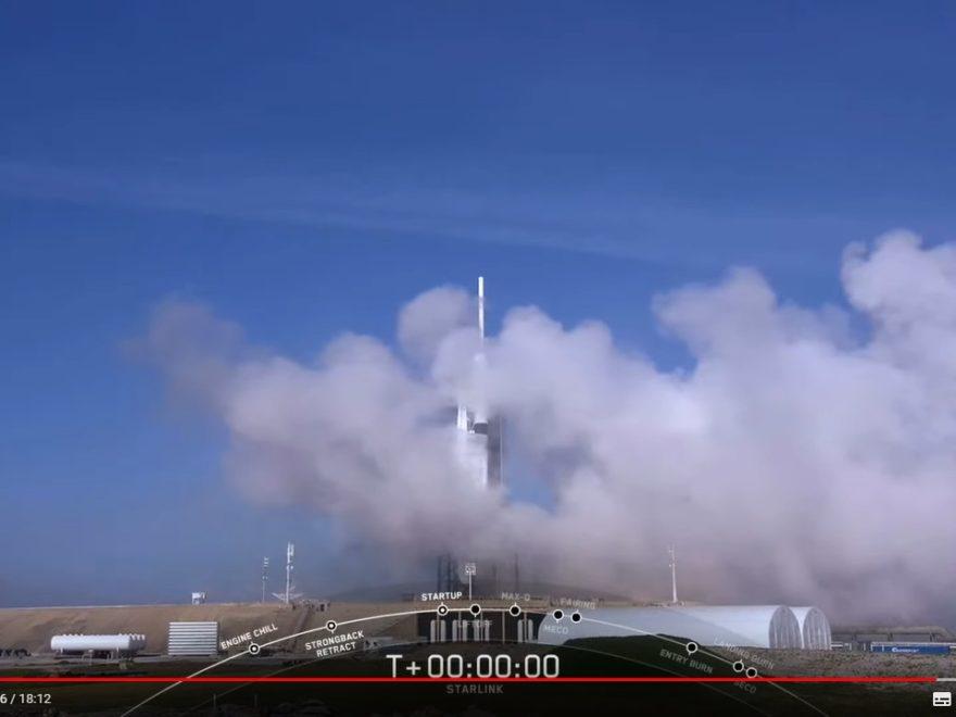 SpaceX - viel Rauch aber kein Start