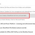 SharePoint Liste aus Excel erstellen