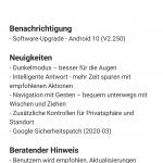 Endlich: Android 10 für das Nokia 7.2